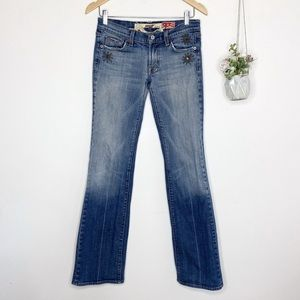 7 For All Mankind Great China Wall Studded Jeans